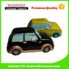 Batería de moneda linda de cerámica del coche del cartón para los cabritos