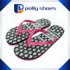 Formato bianco di corallo 9 dei sandali di caduta di vibrazione delle donne