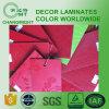 Feuilles en stratifié de formica/couleurs de formica/matériau de construction (HPL)