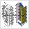 Pattini & calzini & basamento della mobilia/mostra della visualizzazione della memoria di vestiti & del pistone