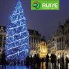 Las luces de Navidad LED de iluminación de lluvia de meteoros de las luces de la cadena iluminado por el Ayuntamiento de Viena