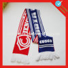Preiswerter Land-Fußball gestrickter Gebläse-Schal