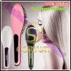 100% alisador de cabelo eléctrico de cerâmica Original Escova pente alisador de cabelo