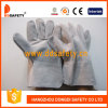 Ddsafety 2017 Grey Cow Split Gants de travail sans soudure