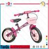 Bicicleta de equilíbrio de bicicleta infantil com cesta