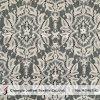 Kleid gestrickter Baumwollspitze-Gewebe-Großverkauf (M3463-G)