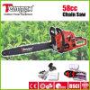 58cc Easy Inizio Gasoline Chain Saw con Ce, GS, Euro II Certificate