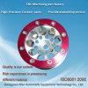 Finition en aluminium anodisé de précision les pièces d'usinage CNC avec service d'assemblage