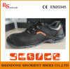 Кожаный ботинок работы ботинок безопасности