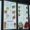 Segno della scheda LED del menu del ristorante