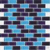 Mattonelle Mixed viola blu di vetro della piscina del sottopassaggio