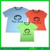 Kundenspezifisches Fashion Family T-Shirts mit Logos auf Chest