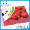 Rectángulo del cartón de la legumbre de fruta fresca que empaqueta con talla de encargo