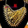 方法宝石類のネックレスの金の鎖、金のネックレス、金の宝石類(BDF9124)