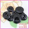 2holes Immitation Horn Black Resin Button per Men