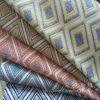 Il filato del Chenille del jacquard ha tinto i tessuti del coperchio del sofà