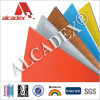 Placa de propaganda exterior do painel composto de alumínio decorativo do ACP do material