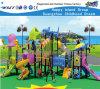 Campo de jogos ao ar livre Hf-12502 do balanço das crianças de Playsets da caraterística do oceano