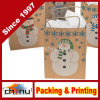 Sacs de cadeau de bonhomme de neige estampés par coutume (220114)
