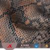 PVC de imitação da pele animal de couro de grão, couro do plutônio de Snakeskin