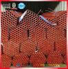 De rode het Schilderen Buis van de Steiger die in China wordt gemaakt