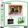 Pp tissés par Eco réutilisables ont feuilleté le sac à provisions