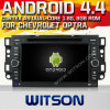 Witson Android 4.4 Car DVD para Chevrolet Optra com A9 o Internet DVR Support da ROM WiFi 3G do chipset 1080P 8g