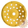 7 pouces PCD Grinding Cup Wheel pour Fast Removal de Flooring