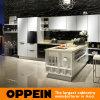 Armário de cozinha Unbreakable moderno do vidro Tempered de Oppein (OP14-094)