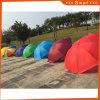 La publicité des parapluies de polyester avec impression de logo pour l'extérieur, protection UV Sun parapluie en polyester