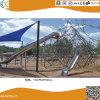 Structure en acier de plein air de l'escalade pour les enfants HX1502m