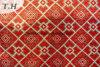 셔닐 실 자카드 직물 길쌈 직물의 정연한 패턴의 3개의 색깔