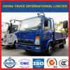 HOWO 115HP 4X2の軽量貨物自動車の貨物トラック