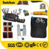 16 in 1 sacchetto multifunzionale dell'insieme di strumenti di difficoltà del meccanico della bicicletta con le leve della zona della gomma