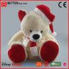 Teddybeer van de Gift van Kerstmis de Zachte/Gevulde/van de Pluche van het Stuk speelgoed voor Jonge geitjes/Kinderen