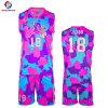 Gli abiti sportivi su ordinazione hanno sublimato il pullover uniforme di pallacanestro di disegno di pallacanestro per gli uomini