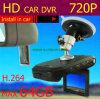 O gravador de vídeo 720p do carro de HD, carro DVR de HD, ostenta DVR
