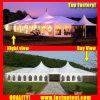 Белый высокое пиковое смешанных палатку в рамке для предприятий общественного питания для 200 человек местный гость