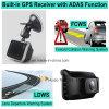 2018 2.7  5.0mega Ov4689車のカメラ、1296p車のブラックボックス、Google MapのダッシュカムDVR-2718著ルートを追跡するGPSが付いている2K解像度のAmbrella A7la50車DVRのレコーダー