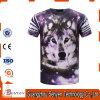 Plein T-shirt 100% de polyester de l'impression 3D avec la qualité