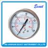 Calibre de pression remplie de liquide-Huile hydraulique Jauge de pression-Jauge de pression arrière
