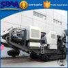 高容量の移動式クローラー粉砕機のプラント