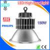 luz 150W de la bahía de la viruta IP65 LED de 120-130lm/W Philips LED alta