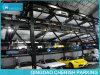 Sollevamento facendo scorrere il sistema di parcheggio dell'automobile di puzzle