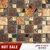 Mosaico di lusso del reticolo di fiore, mosaico di vetro della miscela del marmo della resina