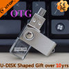 Vara de cristal do USB do giro do presente OTG do telemóvel de Andriod (YT-3270-07)