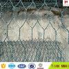 Cestino della casella di Gabion del rivestimento del PVC con il certificato ISO9001
