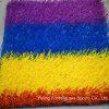 Césped sintético usado decoración artificial de la hierba del arco iris (MPY)