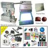 Одиночная печатная машина пусковой площадки света цвета вручную