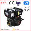 1500/1800rpm 캠축 산출 10HP 디젤 엔진